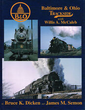 BALTIMORE & OHIO TRACKSIDE - MORNING SUN BOOK - VG COND.