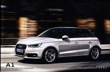 Audi A1 2016 catalogue brochure polonais rare