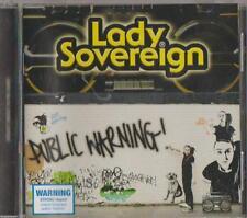 C.D.MUSIC  D369   LADY SOVEREIGN : PUBLIC WARNING   CD