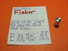 FISHER RS-2002 EQUALIZER SLIDER CAPS ALSO