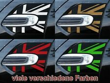 Flaggen Side Scuttles Aufkleber Decal Blinker f. MINI COOPER F55 F56 Works Union