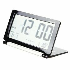USA Multifunction Travel Folding LCD Digital Screen Desk Electronic Alarm Clock