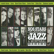 CD Nos Stars Celebrent le Jazz a Montreal by Various Artists 2009 NEW SEALED