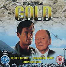 DVD Daily Mail Promo GOLD Roger Moore Susannah York, John Gielgud, South Africa