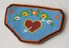 Collectible Antique Native North American Beaded Handmade Pouch Purse Wallet