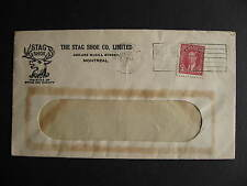 CANADA 1941 Stag Shoe Montreal advertising cover, check it out!