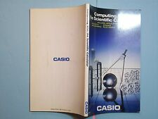 BOOK MANUAL CASIO SCIENTIFIC CALCULATOR MANUAL SA06107061D 1986