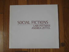 1996 Social Fictions Lari Pittman Andrea Zittel vtg art CATALOG painting book