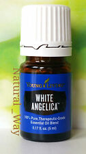 Young Living WHITE ANGELICA 5ml: Bergamot,Myrrh,Geranium,Hyssop,Rose #3432 - NEW