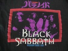 Vintage 90s BLACK SABBATH 1999 Tour Heavy Metal Concert Ozzy Osbourne T Shirt XL