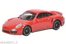 Porsche 911 Turbo (991), indischrot/Art.-Nr. 452010200, Schuco Auto Modell 1:64