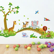 Animal Tree  Removable Wall Sticker Vinyl Decal Kids Nursery Home Art Decor DIY