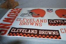 "SKINIT Huge 25"" Wide NFL Team CLEVELAND BROWNS Tailgate Skins DECAL SHEET NEW"