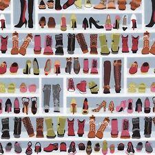 Timeless Treasures Novelties 2014 - C2821 Multi Shoe Closet Bty Cotton Fabric