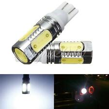 2x T10 W5W 168 194 7.5W COB LED Car Signal Tail Turn Light Lamp Pure White 12V