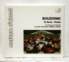 WILLIAM CHRISTIE - BOUZIGNAC te deum / motets HARMONIA MUNDI CD NM