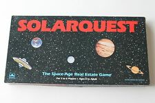 Vtg 1986 Solarquest Space Real Estate Board Game Strategy Golden #4231 Monopoly