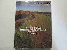 2008 Polaris SPORTSMAN 500 EFI X2 TOURING Shop Repair Service Manual Brand New