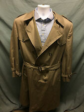 Vintage Christian Dior LE CONNAISSEUR Trench Coat Overcoat Size Gentleman's 46L