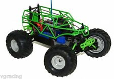 Traxxas TRA72024 1/16Th Grave Digger RTR NIB Mini Monster Truck With Roll Cage