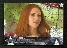 2014 CAPTAIN AMERICA The Winter Soldier #85  Red Foil Parallel Serial  #50 of 99