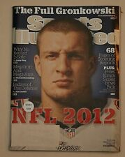 Sports Illustrated - New England Patriots Rob Gronkowski Cover - Sept 3, 2012