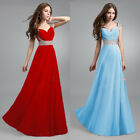 New Lady Long Chiffon Bridesmaid Evening Formal Party Ball Gown Prom Long Dress