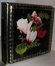 HARIBO Lakritzen BONN alte vintage german tin box Blechdose ORCHIDEE antik