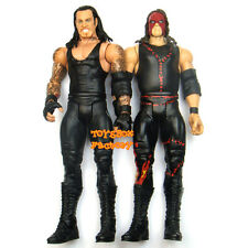 """ The Brothers of Destruction "" WWF WWE Kane & Undertaker Action Figures Kid Toy"