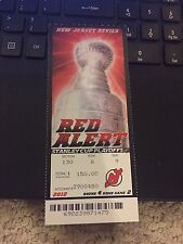 2012 NEW JERSEY DEVILS V LOS ANGELES KINGS STANLEY CUP FINALS TICKET STUB GAME 2