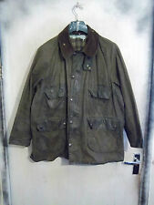 SHABBY CHIC BARBOUR BEDALE WAXED JACKET SIZE C46 117CM