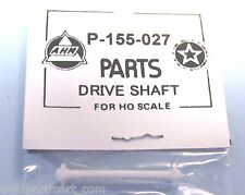 P-155-027 DRIVE SHAFT IN WHITE BY AHM & RIVAROSSI FACTORY ORIGINAL PART, AHM HO