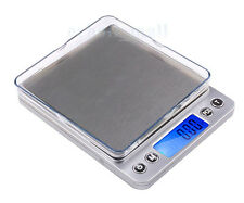 Mini 0.1g 2000g LCD Precision Jewelry Electronic Digital Weight Scale Kitchen bt