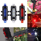 Useful USB Rechargeable Bike Bicycle Cycling Tail Rear Warning Light Safety Lamp