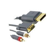 1.5M Component HD AV VGA Monitor Cable Lead For XBOX360