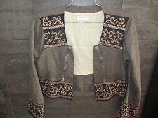 Dies Von Noten earth tone linen jacket size 38
