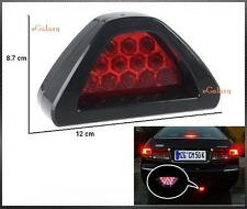 CAR BLINKING BRAKE LIGHT - 12 RED LED LAMP - Triangle Shape