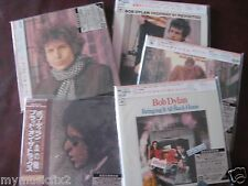 BOB DYLAN BLONDE 61 BLOOD 5 JAPAN Replica OBI RARE CD SET ONE TIME SPECIAL