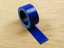 """1 2"""" Blue Colored Duct Tape Colors Waterproof UV Tear Resistant 20 yd 60' Roll"""