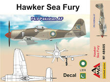 AMG 1/48 Model Kit 48605 Hawker Fury F.60 Pakistan AF