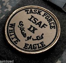 NATO ISAF MISSION NTM-I POLAND CIVIL MILITARY VEL©®⛄ SSI: TASK-FORCE-WHITE-EAGLE
