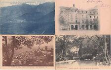 Lot 4 cartes postales anciennes VERNET-LES-BAINS
