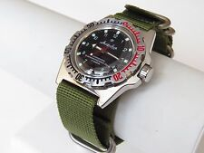 Mens Watch Russian VOSTOK AMPHIBIAN Military Diver Automatic 110269