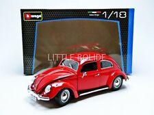 BBURAGO 1/18 VOLKSWAGEN Kafer Beetle - 1955 12029R