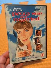 Peggy Sue Got Married-Kathleen Turner Nicolas Cage(R2 DVD)Francis Ford Coppola