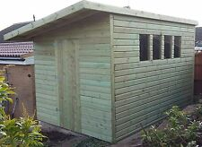 10 x 8 19mm Tanalised & Pressure Treated T&G Pent Shed