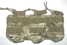 Eagle Industries MULTICAM 5.56mm Triple Open Top Bungee Mag Pouch Ammo MOLLE 223