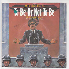"Mel BROOKS Disque 45T 7"" Film TO BE OR NOT TO BE - ISLAND 818297 punki64"