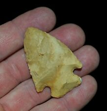 KIRK CORNER NOTCH MISSOURI INDIAN ARROWHEAD ARTIFACT COLLECTABLE RELIC