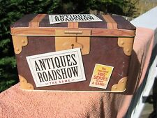 Antiques Road Show The Game in Collectible Tin Box.Pieces is sealed.